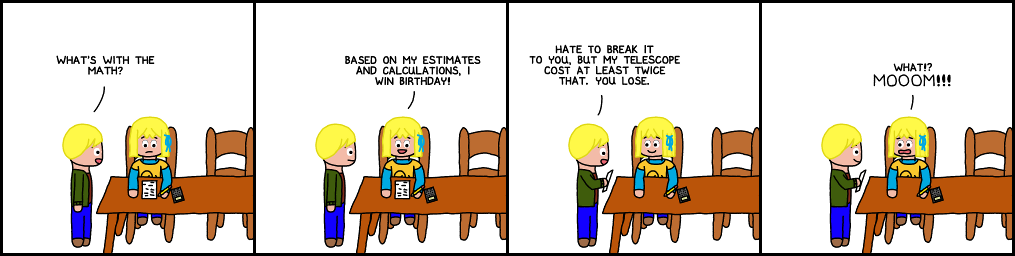 LnM #00114; Arc: Birthday; Strip: Winner; 2011-03-08
