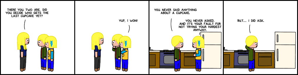 LnM #00523; Arc: Twinlympics; Strip: Cupcake